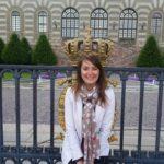 Ce înseamnă să fii însoțitoare de zbor? Livia Velnic la palatul regal din Stockholm
