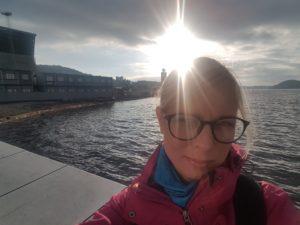Anul meu 2018, ca un colac. Andreea Archip, în Oslo