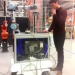 Viața în Danemarca, povestită de un olimpic pasionat de robotică. Matei Sarivan în laborator