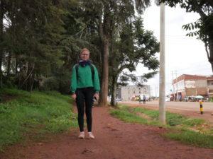Andreea Archip, pe străzile orașului kenyan Iten